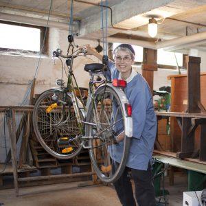 Arbeid fiets